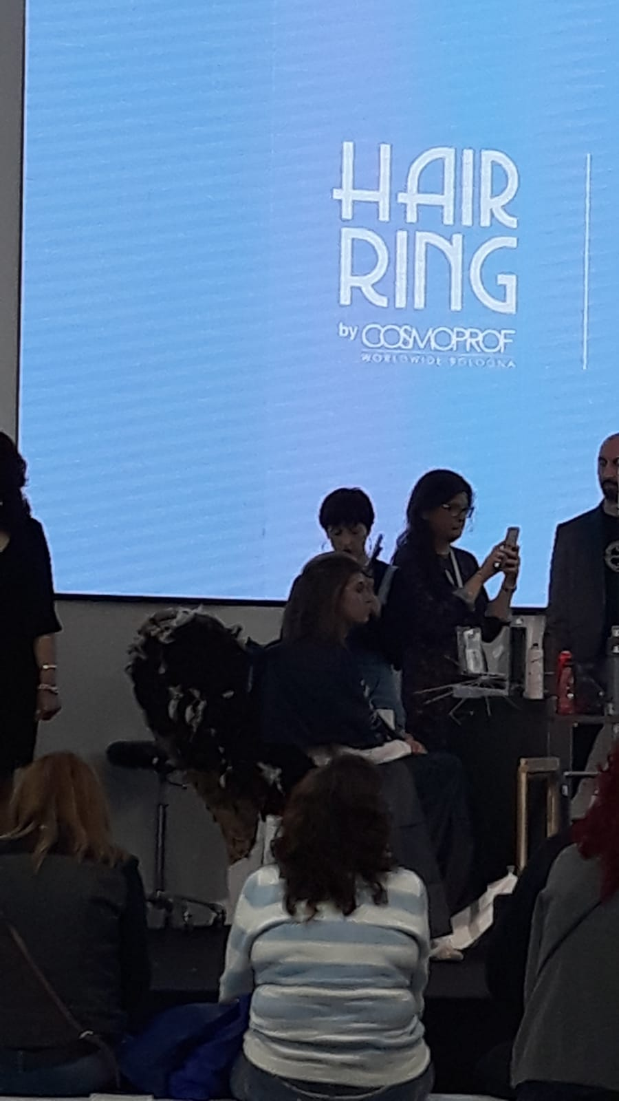 Hair Ring Cosmoprof Bologna